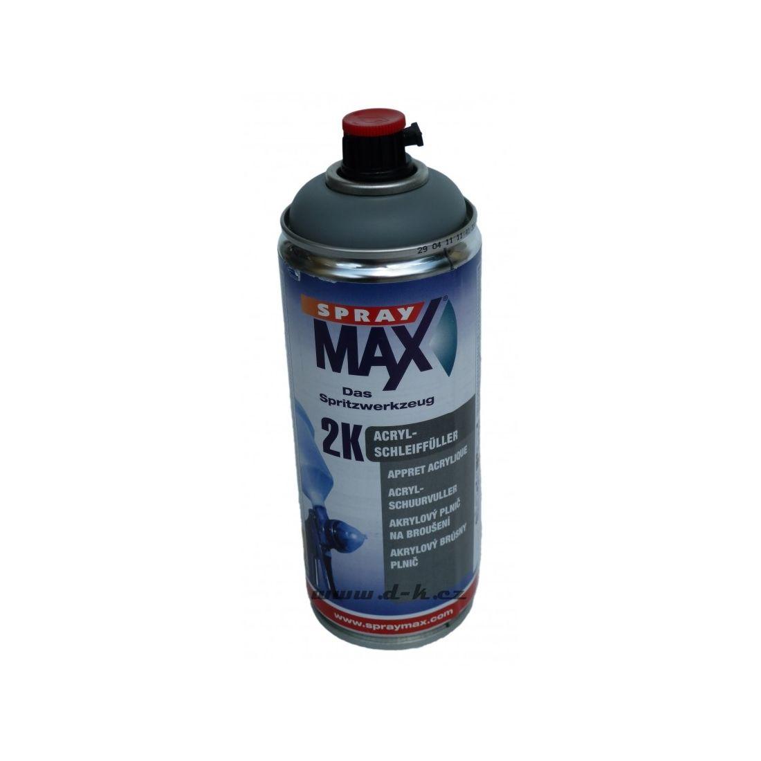 39b08a8b351a1 SprayMax 2K Plnič ve spreji šedý s tužidlem 400ml